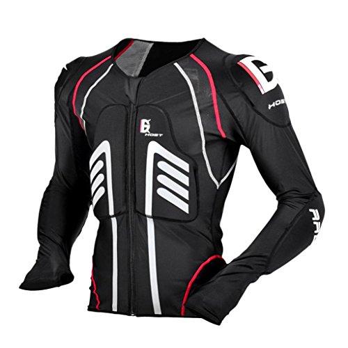 Sharplace Chaqueta para Hombres Armadura Protección de Espalda Codo Hombro de Motoristas Ciclistas...*