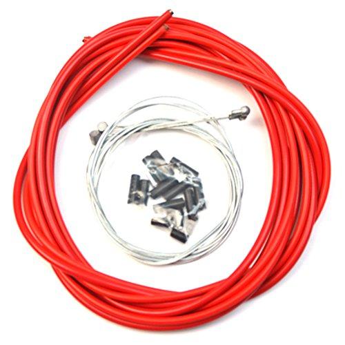 VORCOOL Cable de freno de bicicleta bicicletas universales Accesorios de repuesto de cable de cambio...*