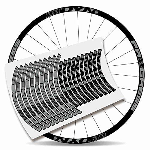 Kit Pegatinas Bicicleta Stickers LLANTA Rim Progress DYN 29
