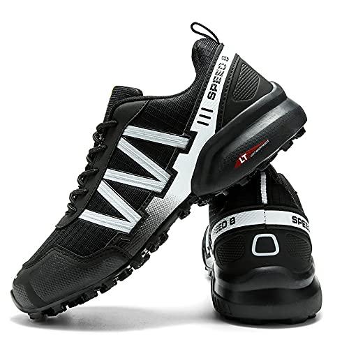 KUXUAN Calzado de Ciclismo para Hombre, Calzado de Ciclismo de Interior Sin Bloqueo,Zapatillas de...*