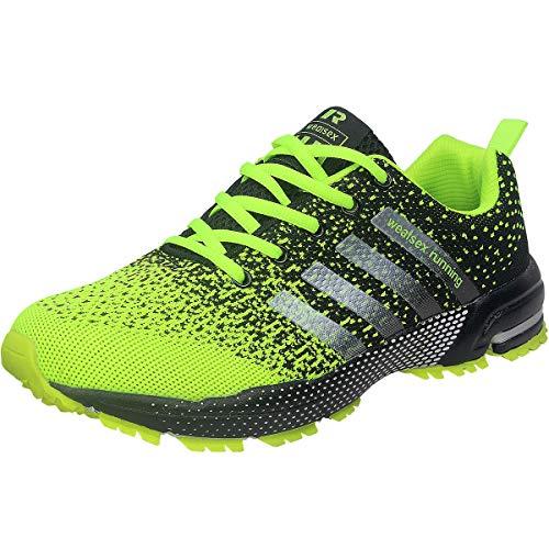 Wealsex Zapatos para Correr En Montaña Asfalto Aire Libre Deportes Zapatillas De Running para...*