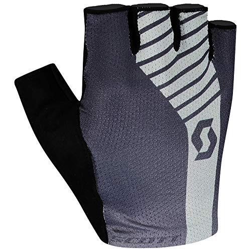 Scott Aspect Gel Guantes cortos para bicicleta (2021, talla XS, 7), color negro y gris
