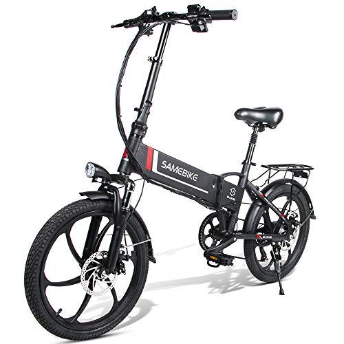 Fafrees Bicicleta Eléctrica Plegable Inteligente 48V 350W LCD Bicicleta Eléctrica Neumático de 20...*