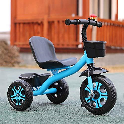 Triciclos Triciclo para niños con pedal, 2 en 1 Altura multifunción Ajustable Bicicleta de...*