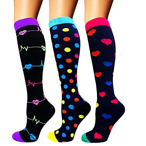 Calcetines de compresión para mujeres y hombres: los mejores calcetines médicos, para correr,...*