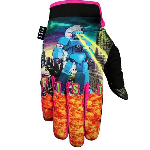 FIST HANDWEAR Guantes de niños para motocross Bmx Mtb Dh Ciclismo - Capítulo 16 (Robo vs Dino, S)