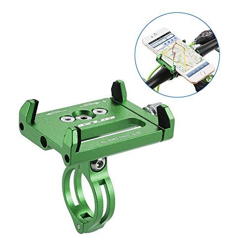 Lixada Soporte universal para teléfono de bicicleta mountian (ajustable) Verde*