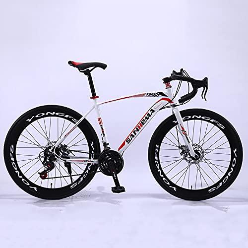 Bicicleta de carretera, ciclo MTB, cuadro de acero con alto contenido de carbono, 26 ', bicicleta todo terreno de 21 velocidades, bicicleta de montaña con doble suspensión y freno de disco doble