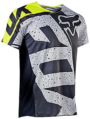 YMWL Hombre Mountain Bike Motocross Jersey Camiseta de Manga Larga Traje de Descenso al Aire Libre a...*