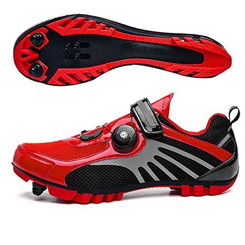 LU-Model Zapatillas de Ciclismo Elite SPD MTB para Hombres Mujeres Ideales para Bicicletas de...*