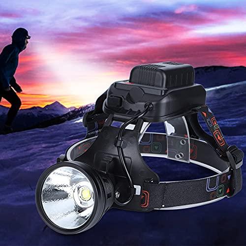 Apropiado Cabeza Luz, Bicicleta Faro Para P70 6.5 X 6.5 X 6 cm 4 X 18650 8000mAh (Incluido) con Aluminio Aleación por Exterior