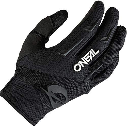 O'NEAL | Guantes de Motocross MX MTB DH FR Downhill Freeride | Materiales duraderos y Flexibles, Palma ventilada | Guantes de Elementos | Hombres | Negro Blanco | Talla XXL