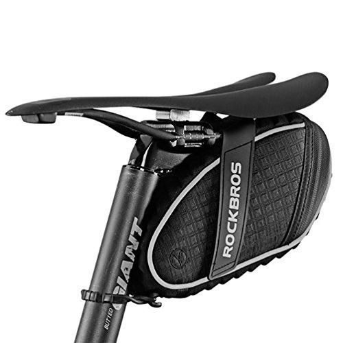 ROCKBROS Bolsa Sillín de Bicicleta Alforja bajo Asiento para MTB Bicicleta Carretera Bolsa Porta...*