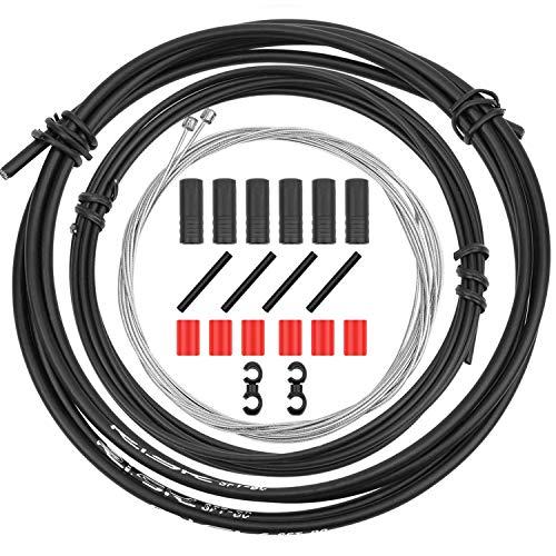 CTRICALVER Kit de Cables y Carcasa de Cambio de Bicicleta – Juego de Piezas de Repuesto de Cable...*