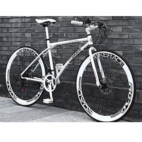 De 26 pulgadas bicicletas con suspensión de acero al carbono completa Bicicletas de carretera con frenos de doble disco, velocidad 24 bicicletas de suspensión completa Bicicletas MTB for los hombres /