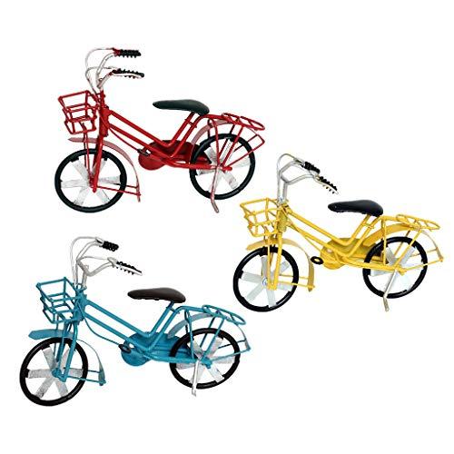 SioHopio Colección De Bicicletas Vintage Escultura Arte Juguete Hecho Mano Modelo Bicicleta Oficina...*
