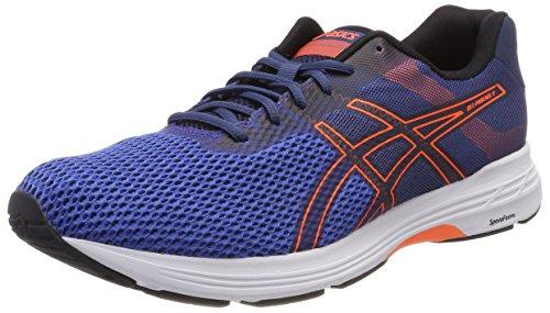 Asics Gel-Phoenix 9, Zapatillas de Running Hombre, Azul (Victoria Blue/Shocking Orange/Black 4530), 42 EU