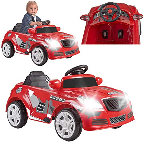 FEBER - Twinkle Car 12V R/C, coche eléctrico de 1 plaza, radiocontrol, 45 min de batería y...*