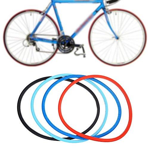 Neumáticos sólidos del neumático de la Bici de 700 x 23c Neumáticos de la Bici del Camino...*