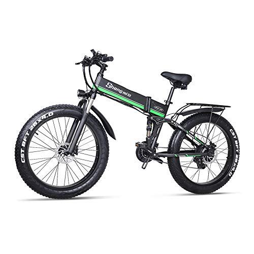 Shengmilo Bicicleta Eléctrica E-MTB Fat Bike 26