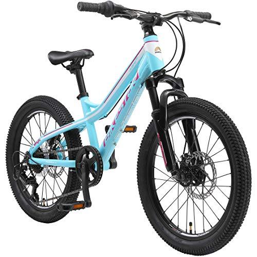 BIKESTAR Bicicleta de montaña de Aluminio Bicicleta Juvenil 20 Pulgadas de 6 a 9 años | Cambio...*