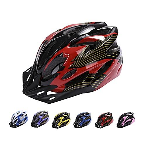 Casco de Bicicleta, Casco de Bicicleta de Montaña Casco de Bicicleta para Adultos Ajustable con...*