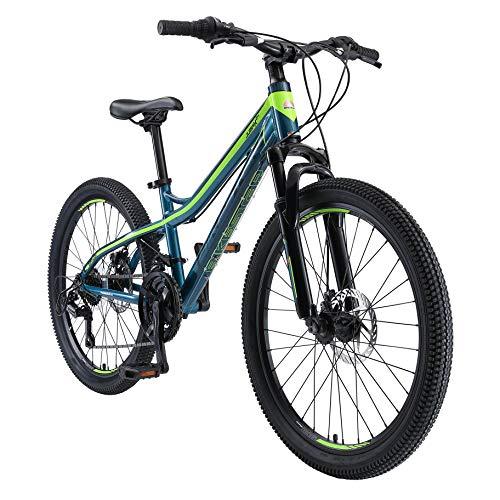 BIKESTAR Bicicleta de montaña de Aluminio Bicicleta Juvenil 24 Pulgadas de 10 a 13 años | Cambio...*