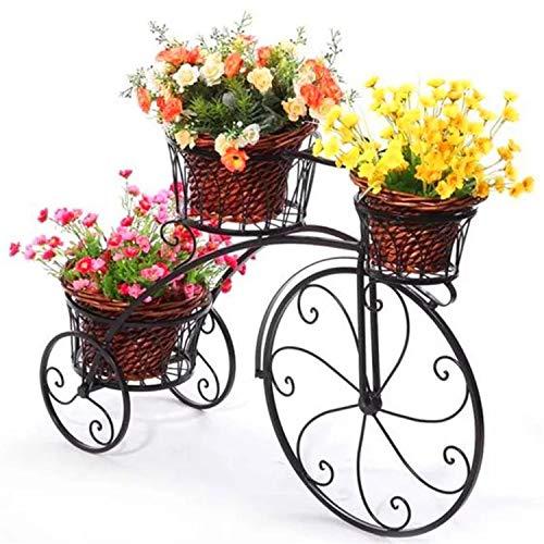 Soporte Creativo Para Plantas De Bicicletas, Estante De Hierro Para Flores Metal Soportes Para...*