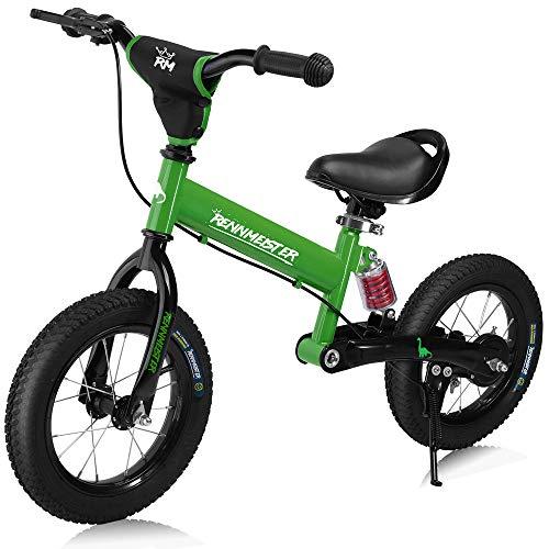 Deuba Bicicleta de Equilibrio Rennmeister para niños sin Pedales a Partir de 3 años con...*