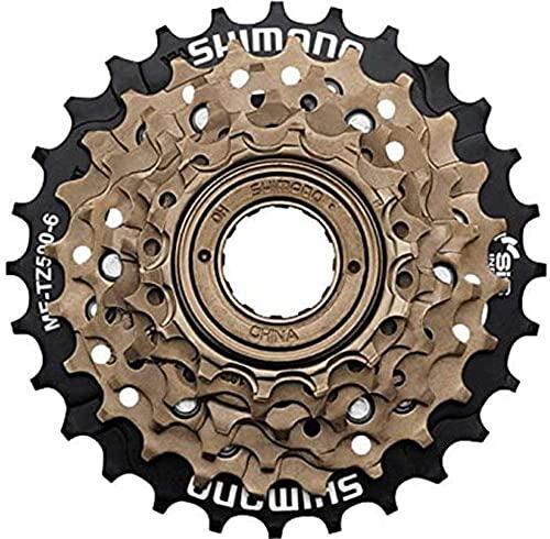 Meghna MF-TZ500 Cassette Piñones de Bicicleta 6/7 Velocidad 14-28T Rueda Libre de Engranajes para Bicicletas de Montaña MTB