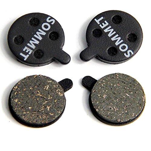 SOMMET 2 Pares Pastillas Freno Disco Semi-metálico para Zoom DB-280/350 / 450/550 / 650 / Alongha SNG/Apse/Artek Apollo/Shockwave/X-Rated