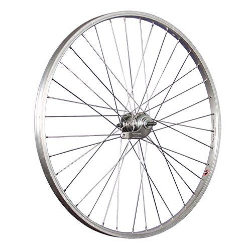 Taylor-Wheels 26 Pulgadas Rueda Trasera Bici buje Freno contrapedal Plateado*