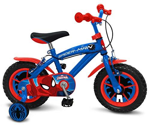 Stamp Spiderman Bicicleta, Color Azul, 12 Pulgadas (SM250018NBA)