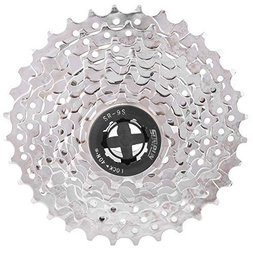 Biuzi Rueda Libre, Cassette de Bicicleta de montaña MTB de aleación de Aluminio 9 Piñones de...*