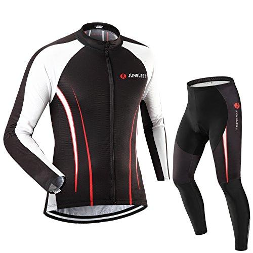 (traje tamaño:M) Hombre Ciclismo Ropa Maillots Pantalones pantalón Set Conjunto jerseys*