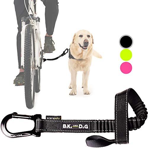 BIKE AND DOG Correa de Perro para pasear en Bicicleta uno o más Perros, se coloca sin Herramientas...*