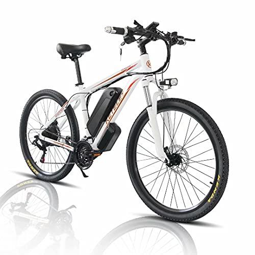 """26'/29"""" Bicicleta Eléctrica E-Bike, Bicis de Montaña Electricas para Adulto de 48V 1000W con Batería Extraíble de 18Ah, Bicicleta de Ciudad para Hombres y Mujeres"""