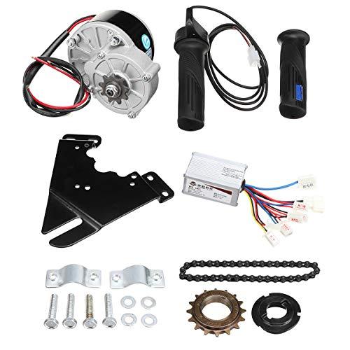 C-FUNN Kit De Controlador De Motor De Scooter De Conversión De Bicicleta Eléctrica De 24 V 250 W...*