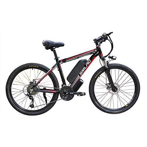 Hyuhome Las Bicicletas eléctricas para Adultos, IP54 Impermeable 500/1000W Ebike de aleación...*