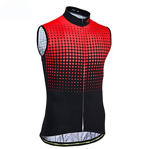 Sunbike Chaleco sin Mangas de Ciclismo sin Mangas para Hombre*