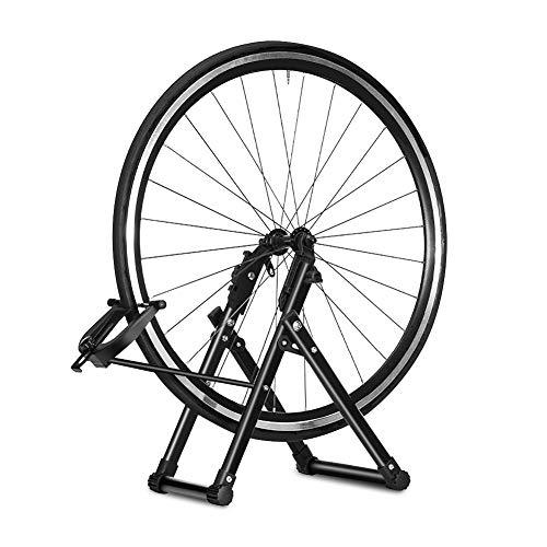 Greensen Soporte de Rueda de Bicicleta, Centrado Rueda Bicicleta, Soporte mecánico para Rueda de Bicicleta, Mantenimiento de la Rueda de Bicicleta para Ruedas de 16 a 29 Pulgadas