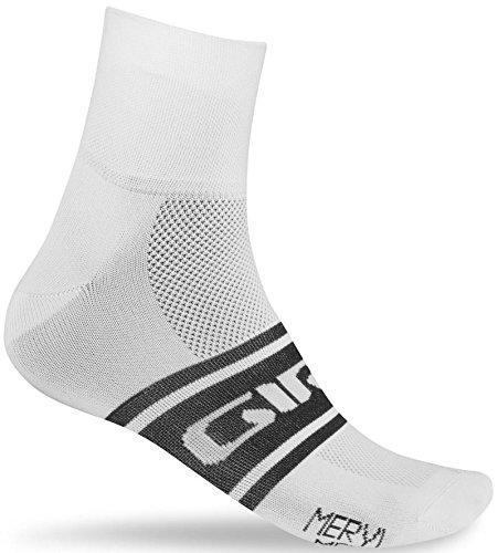 Giro - Calcetines, Talla XL, Color Blanco