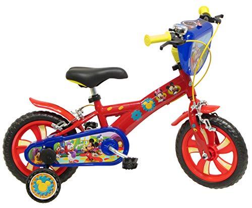 Disney Mickey Mouse - Bicicleta con ruedines