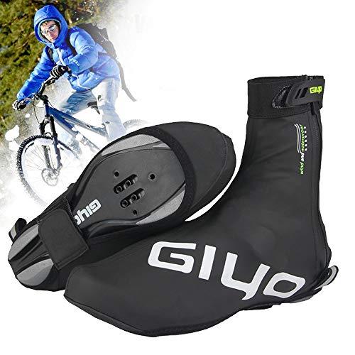 Cubrezapatillas Ciclismo, Reutilizables Impermeables Cubrezapatillas de Bicicleta con Diseño...*
