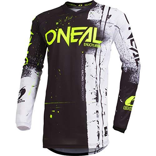 Oneal ELEMENT JERSEY Equipación para Montar En Bicicleta y Motocross, S, Negro