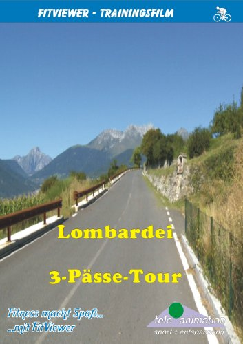 FitViewer Lombardy - 3 Passes Tour Indoor Video Cycling Italy