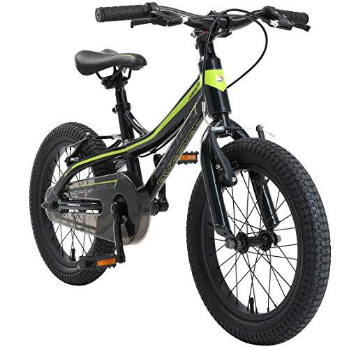 BIKESTAR Bicicleta Infantil Aluminio para niños y niñas a Partir de 4 años | Bici 16 Pulgadas con...*