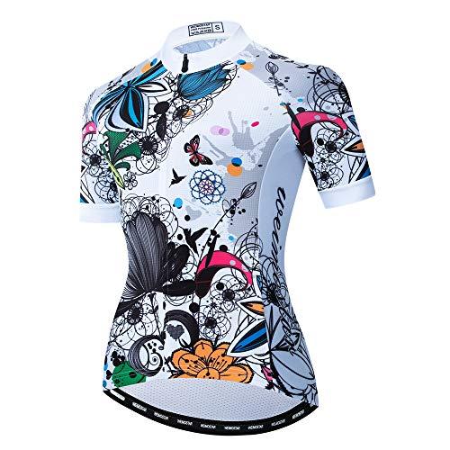 Maillot de ciclismo para mujer, camiseta de manga corta para ciclismo de montaña en verano,...*