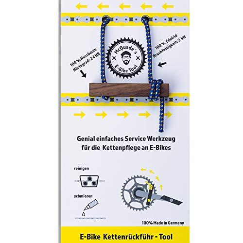 McQuade's E-Bike Tool – Herramienta de servicio genial y sencilla para el cuidado de la cadena de...*
