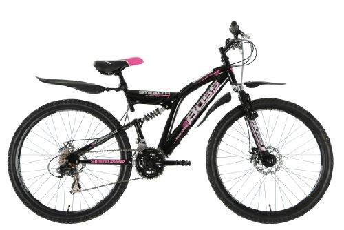 BOSS B2614094 - Bicicleta para Mujer, 26 in, Color Rojo